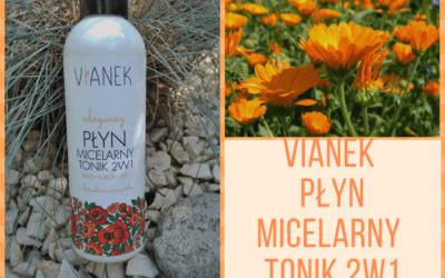 VIANEK odżywczy płyn micelarny i tonik 2w1